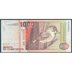 Cabo Verde 1.000 Escudos PK 65a (5-6-1.992) S/C