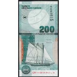 Cabo Verde 200 Escudos PK 68 (20-1-2.005) S/C