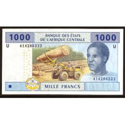 Camerún (Est. Afric. Centrales) 1.000 Francos PK Nuevo (207U) (2.002) S/C