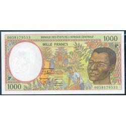 Chad (Est. Afric. Centrales) 1.000 Francos PK 602 Pg (2.000) S/C