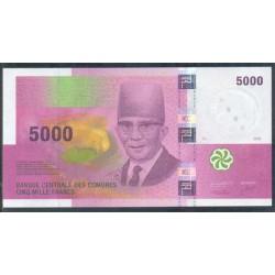 Comores 5.000 Francos PK 18 (2.006) S/C