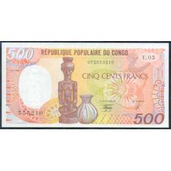 Congo 500 Francos PK 8c (1-1-1.990) S/C