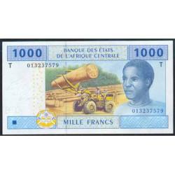 Congo (Est. Afric. Centrales) 1.000 Francos PK 107 T (2.002) S/C