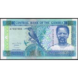 Gambia 25 Dalasis PK 18 (1.996) S/C