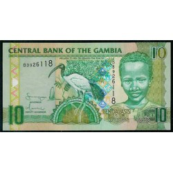 Gambia 10 Dalasis PK 26 (2.006) S/C