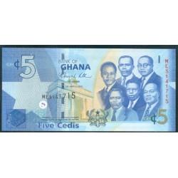 Ghana 5 Cedi PK 38b (6-3-2.010) S/C