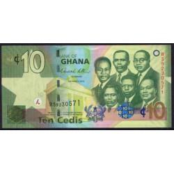 Ghana 10 Cedis PK 39 (6-3-2.010) S/C