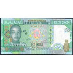 Guinea 10.000 Francos PK 42 (2.007) S/C