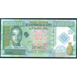 Guinea 10.000 Francos PK 45 (1-3-2.010) S/C
