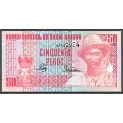 Guinea Bissau 50 Pesos PK 10 (1-3-1.990) S/C