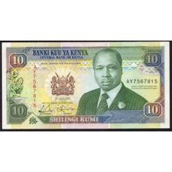 Kenia 10 Shilling PK 24e (1-7-1.993) S/C