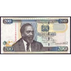 Kenia 200 Shilling PK 49e (16-7-2.010) S/C