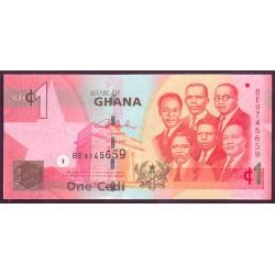 Ghana 1 Cedi PK Nuevo (37) (1-7-2.014) S/C