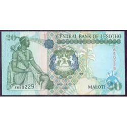 Lesoto 20 Maloti Pk 16 b (1.999) S/C
