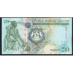 Lesoto 20 Maloti PK 16f (2.007) S/C