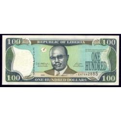 Liberia 100 Dólares PK 30d (2.008) S/C