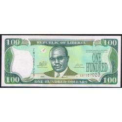 Liberia 100 Dólares PK 30e (2.009) S/C