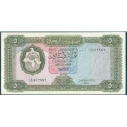 Libia 5 Dinares PK 36b (1.972) S/C