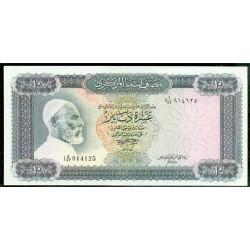 Libia 10 Dinares PK 37b (1.972) S/C