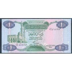 Libia 1 Dinar PK 49 (1.984) S/C