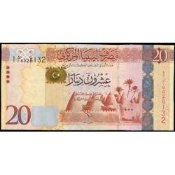Libia 20 Dinares PK 79 (2.012) S/C