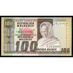 Madagascar 100 Francos / 20 Ariary PK 63 (1.974) S/C