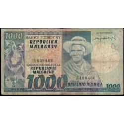 Madagascar 1.000 Francos / 200 Ariary PK 65 BC+