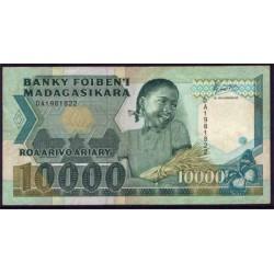 Madagascar 10.000 Francos / 2.000 Ariary PK 74 (1.988-94) MBC-