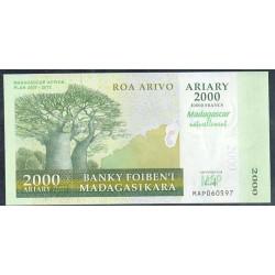 Madagascar 2.000 Ariary PK 93 (2.007) S/C
