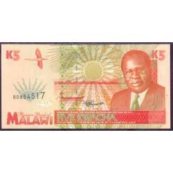 Malawi 5 Kwachas PK 30 (1-6-1.995) S/C