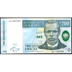 Malawi 200 Kwachas PK 41 (1-7-1.997) S/C