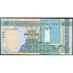 Malawi 50 Kwachas PK 49 (6-7-2.004) S/C
