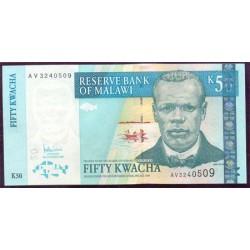 Malawi 50 Kwachas PK 53a (31-10-2.005) S/C