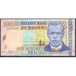 Malawi 500 Kwachas PK 56a (1-11-2.005) S/C
