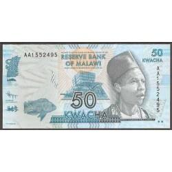 Malawi 50 Kwacha PK 58 (1-1-2.012) S/C