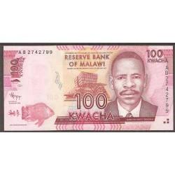 Malawi 100 Kwacha PK 59 (1-1-2.012) S/C