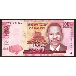 Malawi 100 Kwacha PK Nuevo (59) (1-1-2.013) S/C