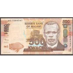 Malawi 500 Kwacha PK 61 (1-1-2.012) S/C