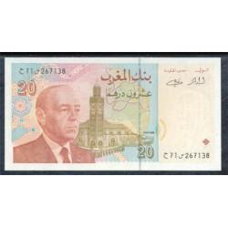 Marruecos 20 Dirhams Pk 67b (1.996) S/C