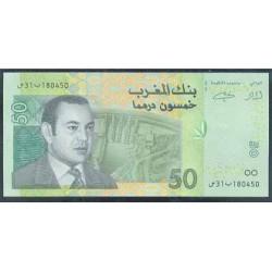 Marruecos 50 Dirhams PK 69 (2.002) S/C