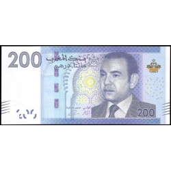 Marruecos 200 Dirhams PK 77 (2.012) S/C