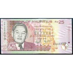 Mauricio (Islas) 25 Rupees PK 49a (1.999) S/C