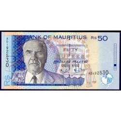 Mauricio (Islas) 50 Rupees PK 50a (1.999) S/C