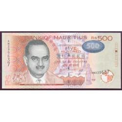 Mauricio (Islas) 500 Rupees PK 58a (2.007) S/C