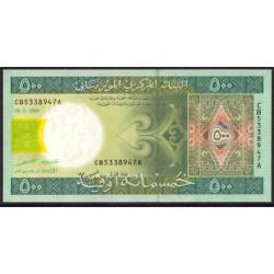 Mauritania 500 Ouguiya PK 12b (28-11-2.006) S/C