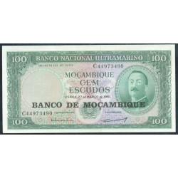 Mozambique 100 Escudos PK 117 (1.976) S/C-