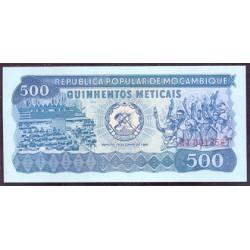 Mozambique 500 Meticais PK 127 (16-6-1.980) S/C