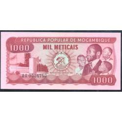 Mozambique 1.000 Meticais PK 128 (16-6-1.980) S/C
