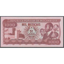 Mozambique 1.000 Meticais PK 132c (16-6-1.989) S/C