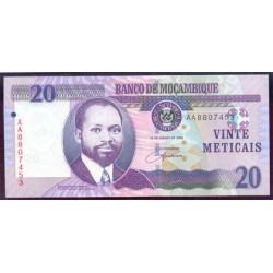 Mozambique 20 Meticais PK 143 (16-6-2.006) S/C